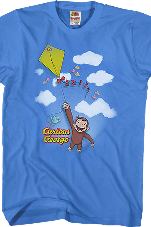 Fly a Kite Curious George T-Shirt