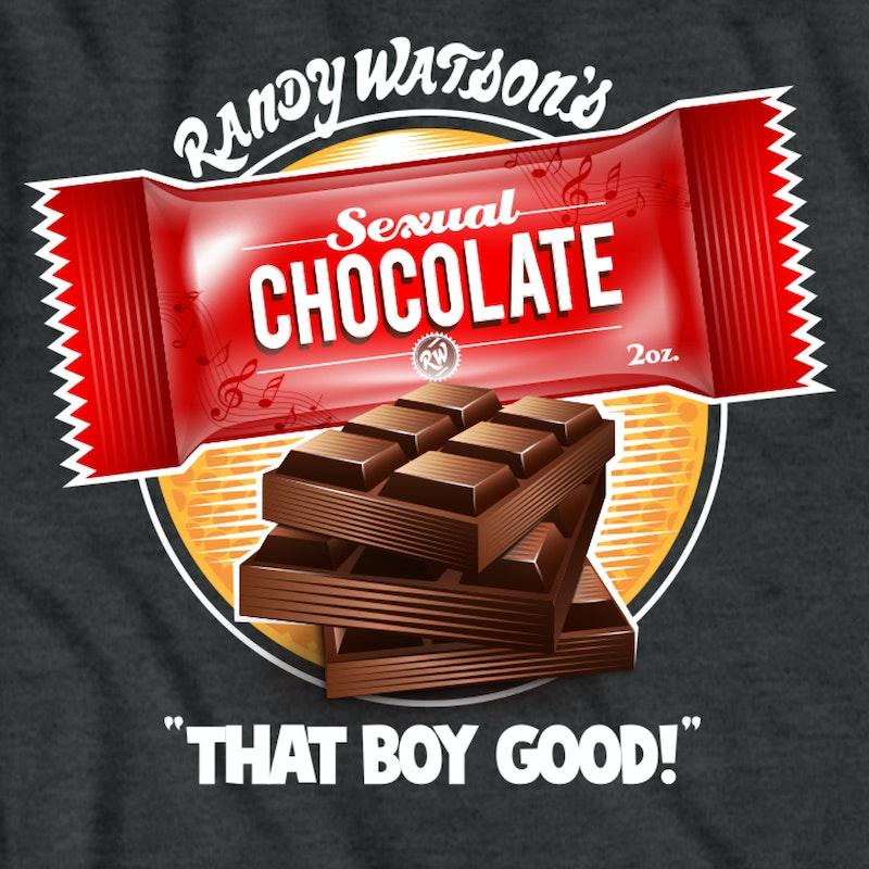 sexual chocolate coming to america tshirt