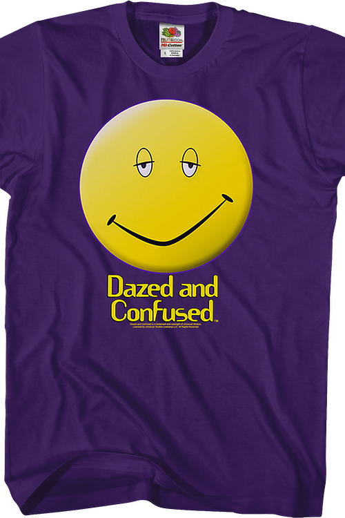 Smiley Face Dazed and Confused T-Shirt