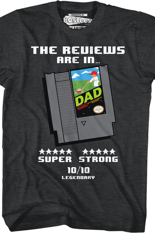 Video Game Cartridge Father's Day T-Shirt