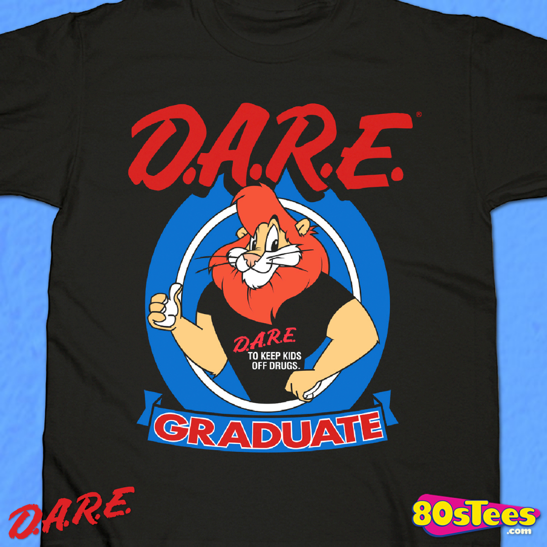 RED Double Dare Logo Nickelodeon Costume T-shirt  S-5XL
