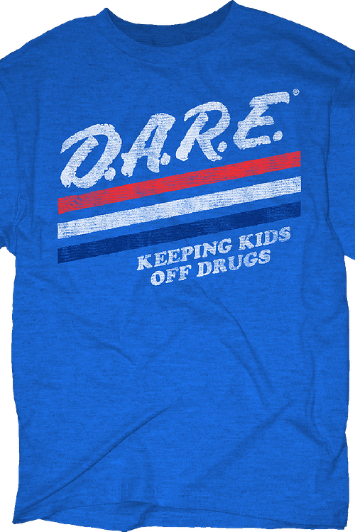 Keeping Kids Off Drugs DARE T-Shirt