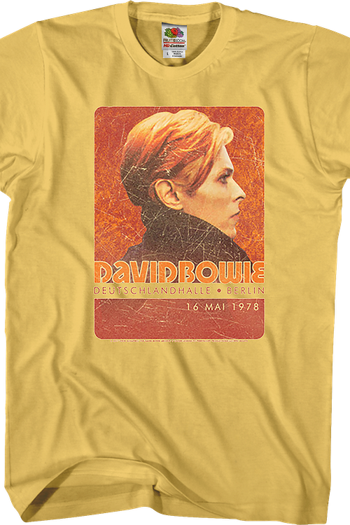 Berlin Poster David Bowie T-Shirt