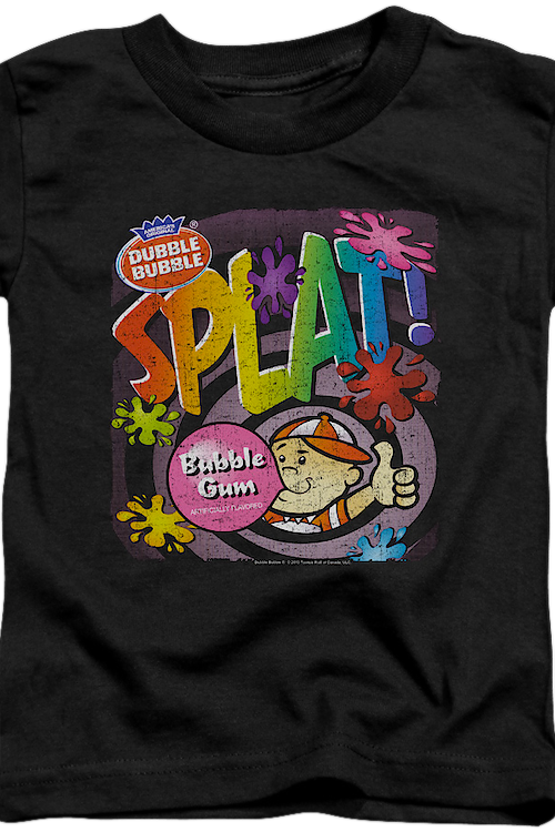 Youth Splat Dubble Bubble Shirt