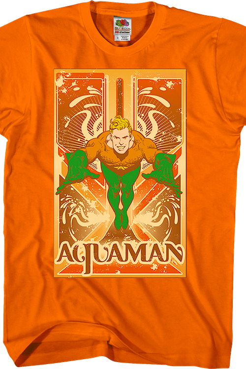 Sheldons Aquaman Shirt