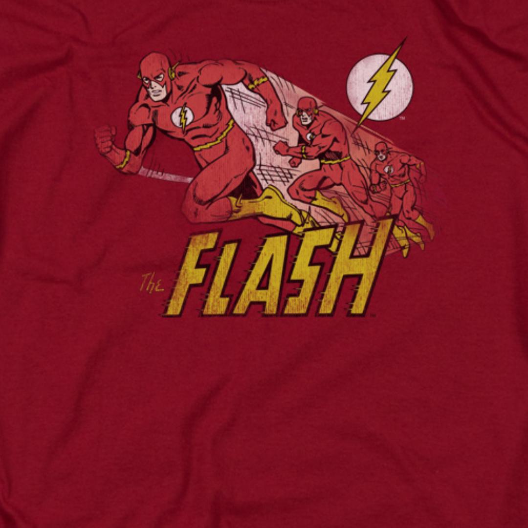 The Flash T-Shirt Sheldon Cooper DC Comic t shirt marvel t shirt
