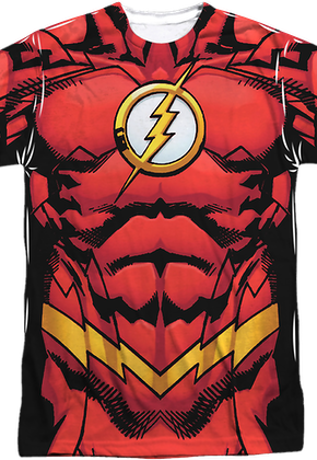the flash t shirt costumes more 80stees. Black Bedroom Furniture Sets. Home Design Ideas