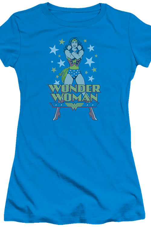Posing Wonder Woman Shirt