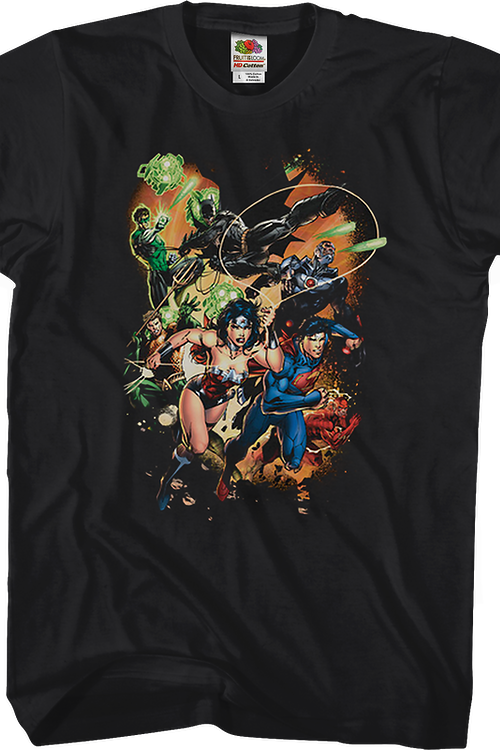 Jim Lee Justice League T-Shirt