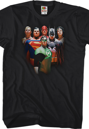 Alex Ross Justice League T Shirt