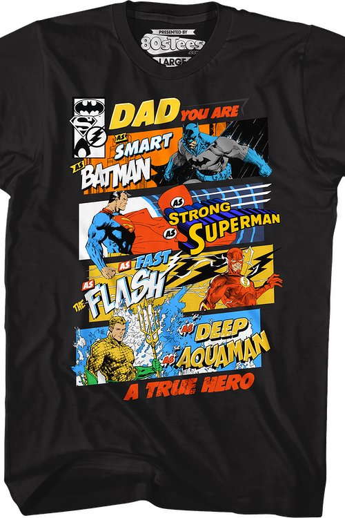 Justice League Father's Day T-Shirt