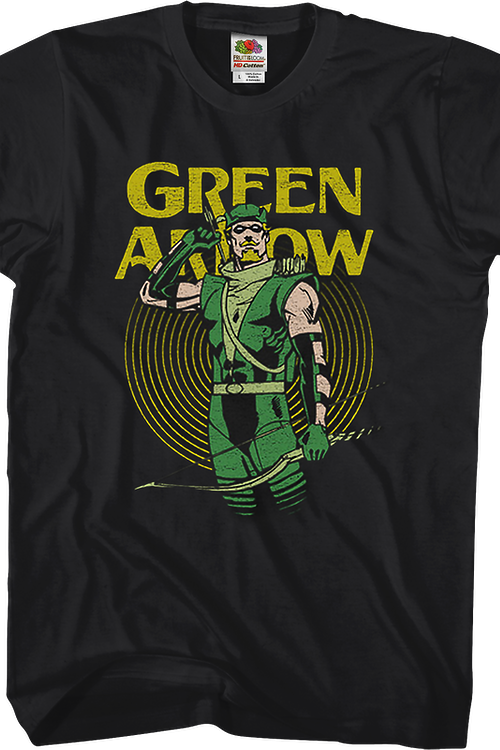 Hero Pose Green Arrow T-Shirt