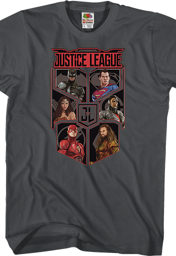 Cast Justice League T-Shirt