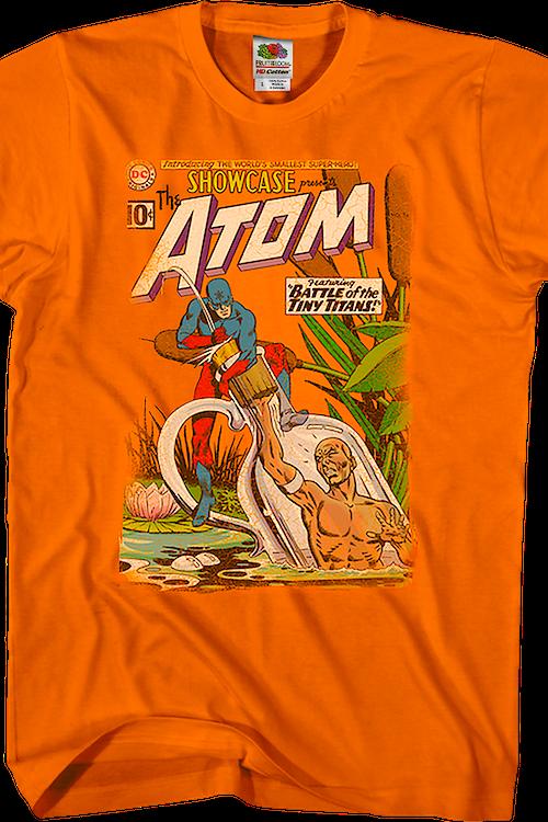 bbc55af9e battle-of-the-tiny-titans-atom-dc-comics-t-shirt .master.png?w=500&h=750&fit=crop&usm=12&sat=15&auto=format&q=60&nr=15