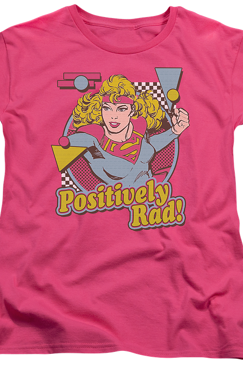 Womens Positively Rad Supergirl Shirt