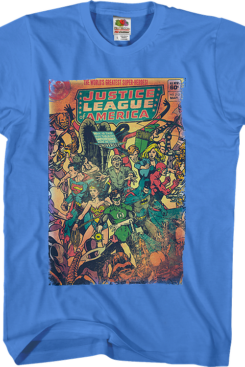 World's Greatest Super Heroes Justice League T-Shirt