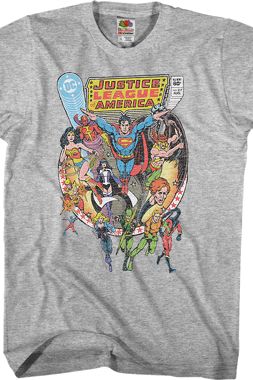All The Elements Of Disaster Justice League T-Shirt