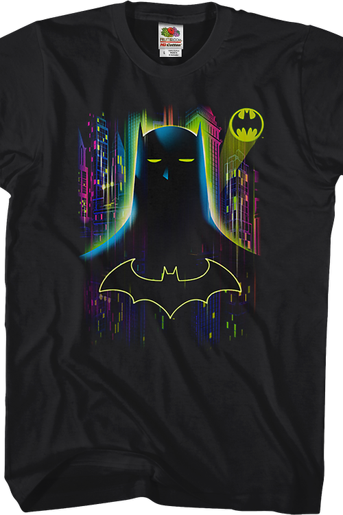 Neon Batman T-Shirt