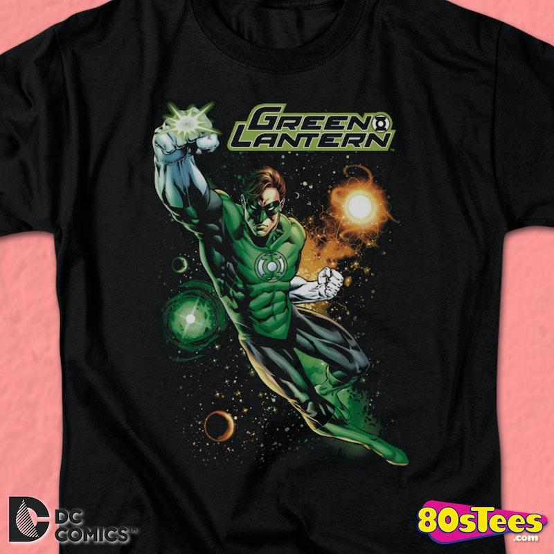 34ae7172 Flying Green Lantern T-Shirt DC Comics