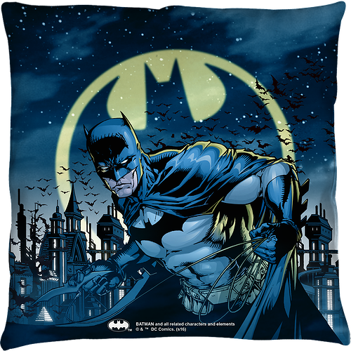 Batman Throw Pillow