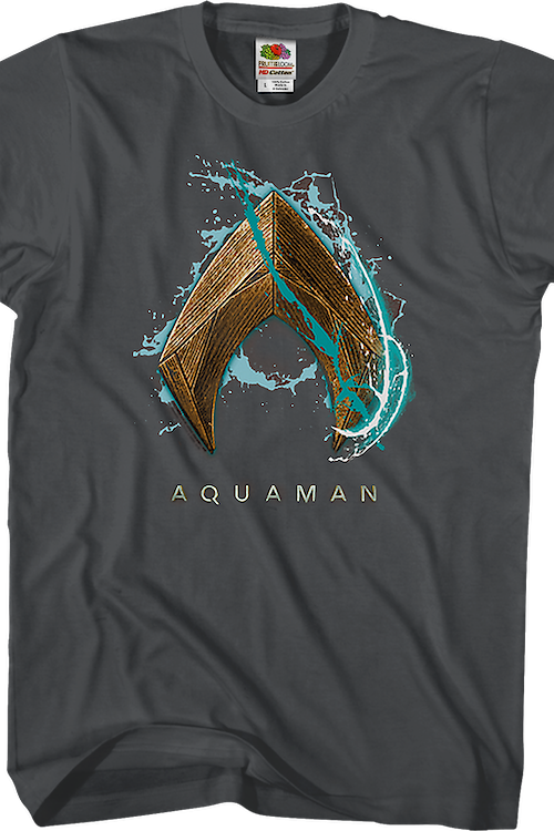 Water Logo Aquaman T-Shirt