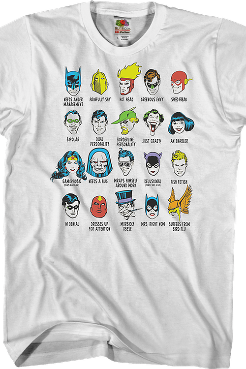 Comic Book Issues Justice League T-Shirt