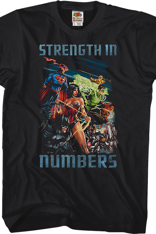 Strength In Numbers Justice League T-Shirt