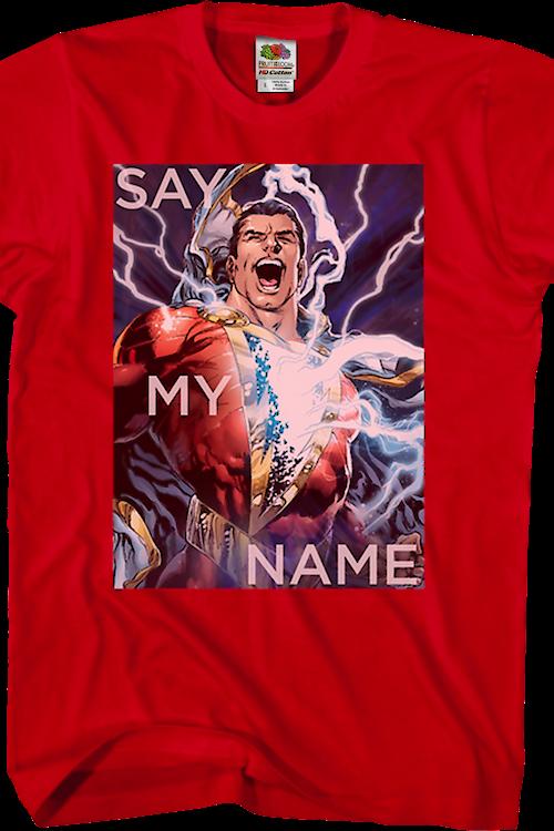 46cdc6e6f Say My Name Shazam T-Shirt Men's