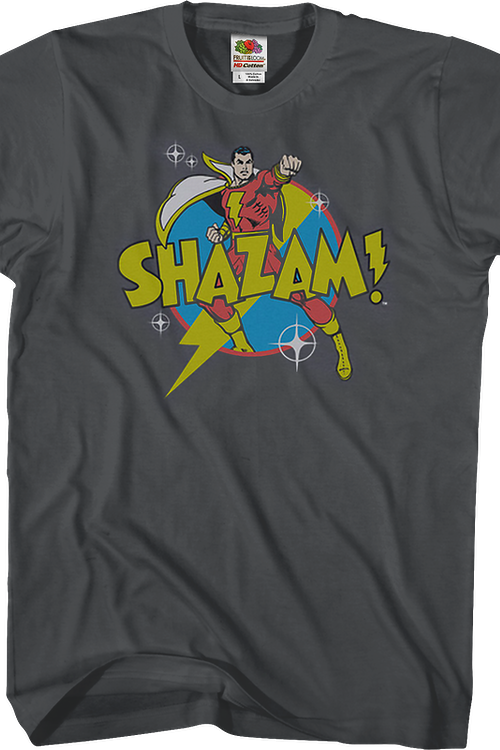 Action Pose Shazam DC Comics T-Shirt