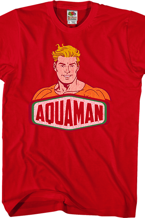 Red Aquaman T-Shirt
