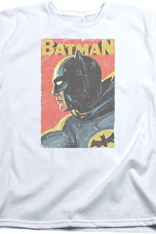 Womens Vintage Art Batman Shirt
