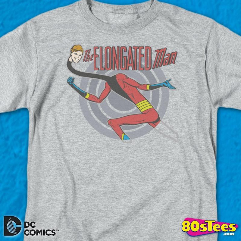 The Elongated Man Dc Comics T Shirt