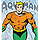 Big Print Aquaman T-Shirt