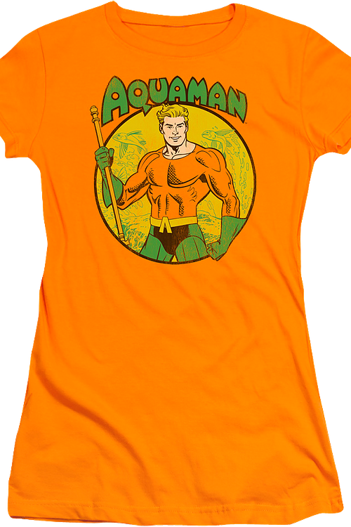 Junior Circle Aquaman Shirt