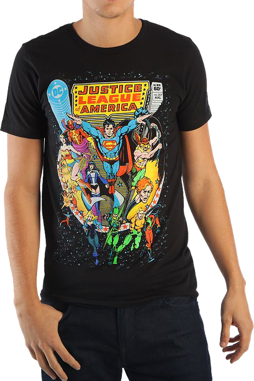 All the Elements of Disaster Justice League of America T-Shirt