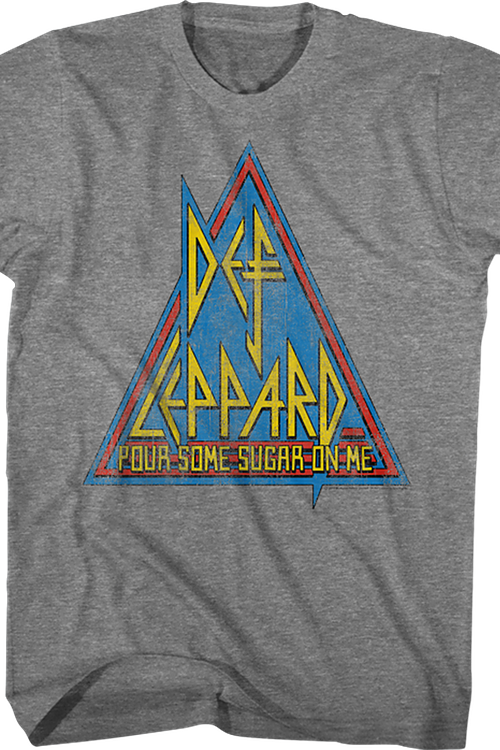 Pour Some Sugar On Me Def Leppard T-Shirt