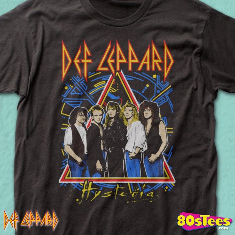 7e55bcc1bd7 Def Leppard Hysteria Tour T-Shirt
