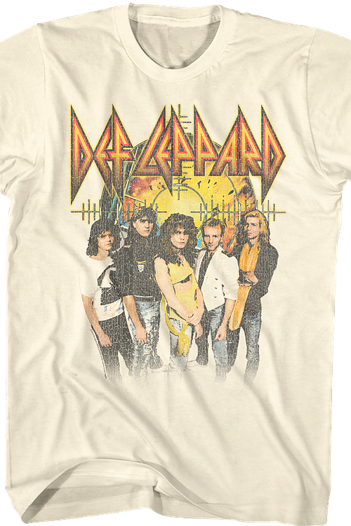 Pyromania Background Def Leppard T-Shirt