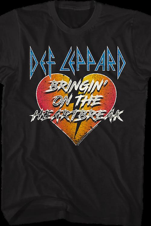 Bringin' On The Heartbreak Def Leppard T-Shirt