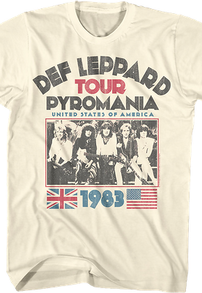 f6675f6bb22c Def Leppard Shirts - Officially Licensed - Free Shipping Available