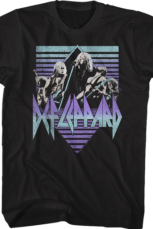 Collage Def Leppard T-Shirt