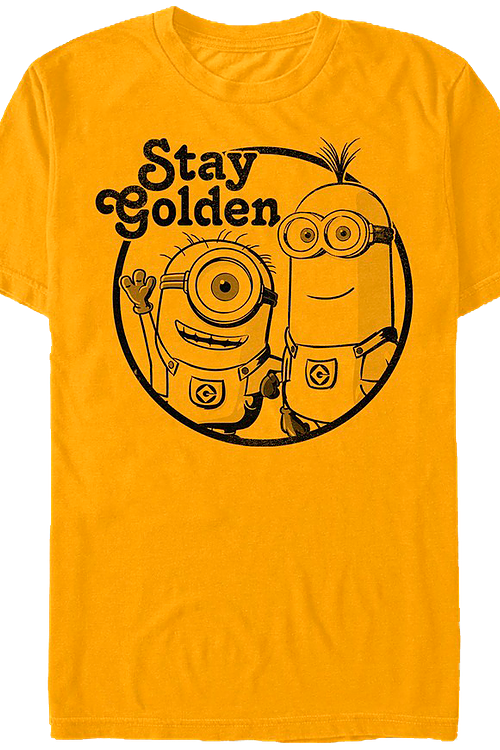 Stay Golden Despicable Me T-Shirt