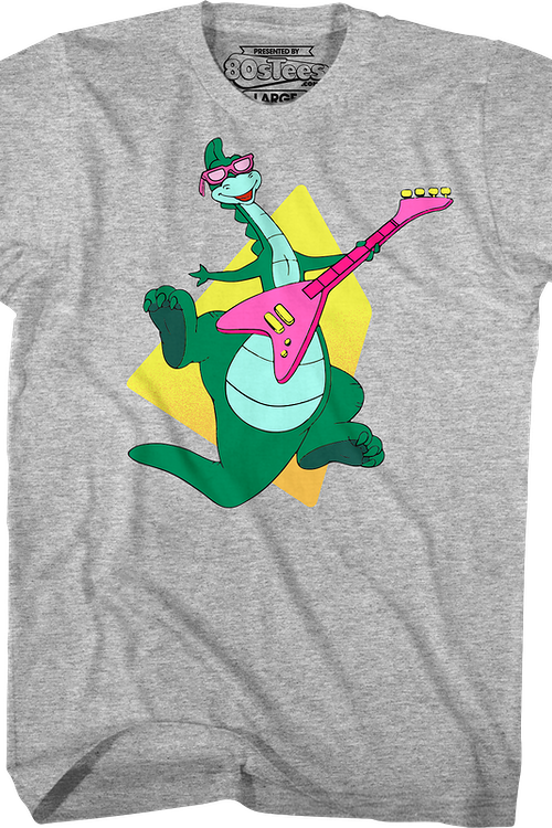 Guitar Denver The Last Dinosaur T-Shirt