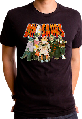 Cast Dinosaurs T-Shirt
