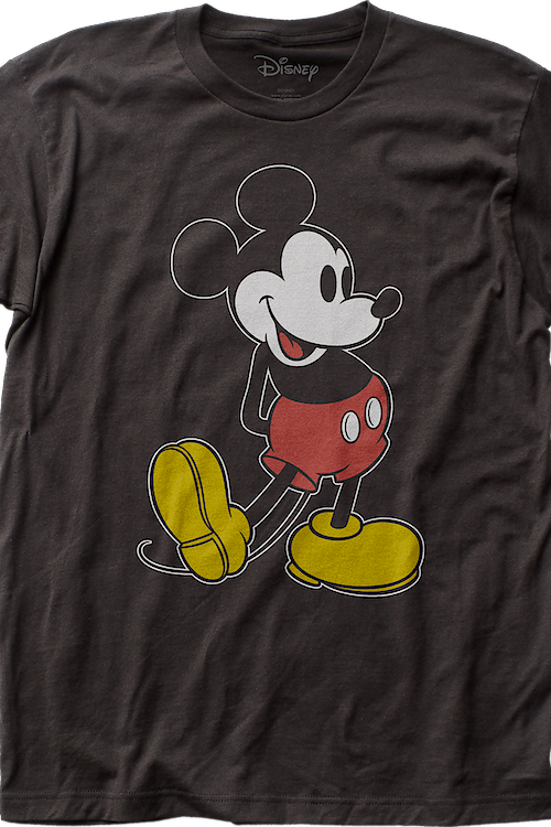 Coal Mickey Mouse T-Shirt