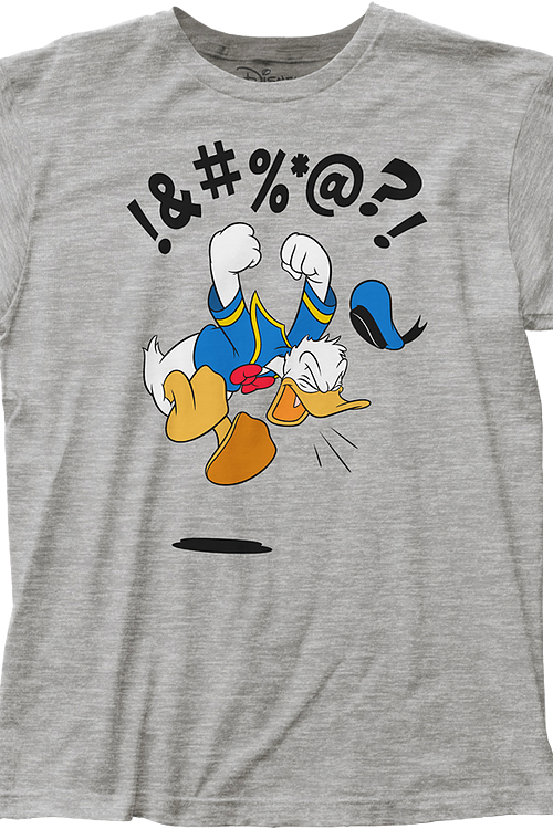 b45d59352e23 Donald Duck T-Shirt: Disney Donald Duck Mens T-Shirt