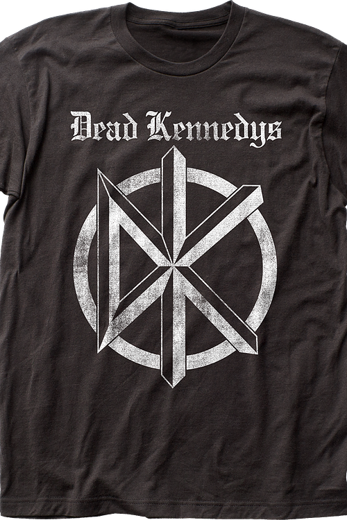 Black and White Logo Dead Kennedys T-Shirt