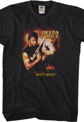 Chuck Norris Delta Force 2 T-Shirt