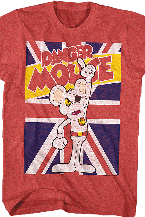 Union Jack Danger Mouse T-Shirt