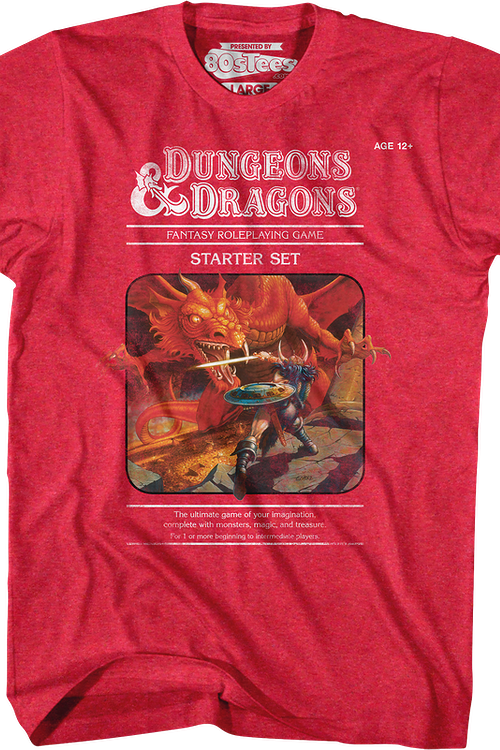 Red Starter Set Dungeons & Dragons T-Shirt